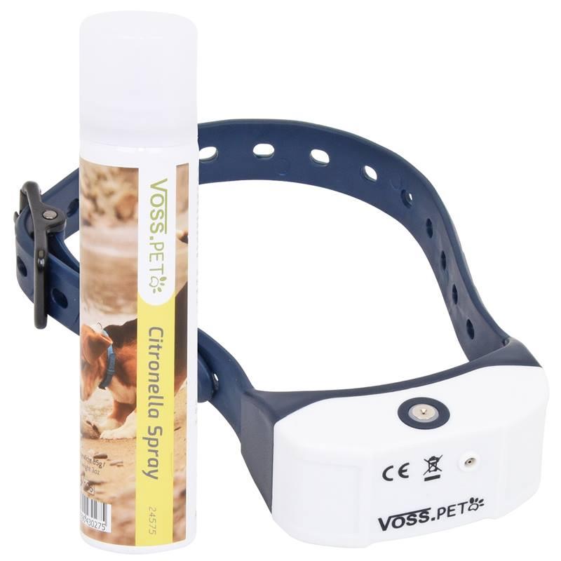 Collier à spray anti-aboiements pour chiens AB 3 de VOSS.PET, deLuxe