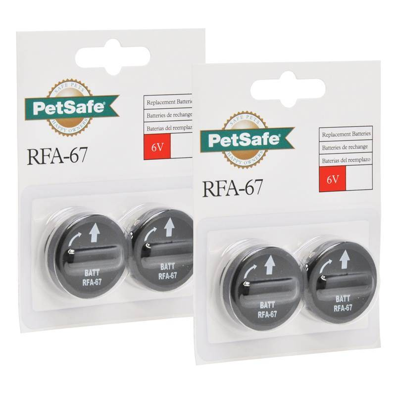 Module de batterie PetSafe RFA-67 pack de 4