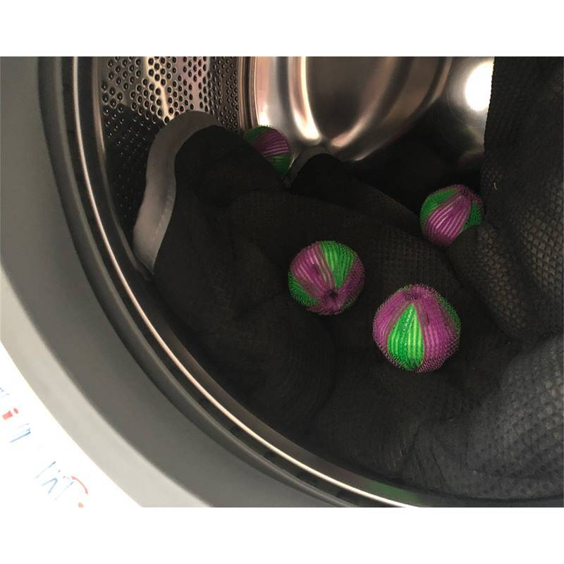 QHP 6x  balles de lavage XL, boules de lavage contre les poils d�animaux