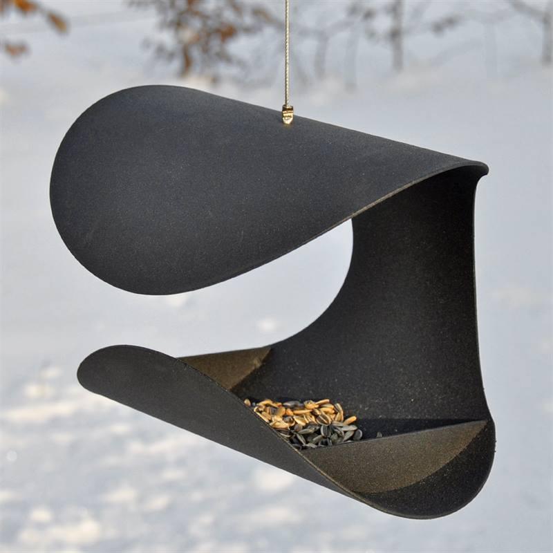 Mangeoire à oiseaux suspendue Chair