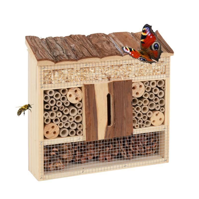 Maison de protection insectes, h�tel pour insectes 29 x 8 x 28cm