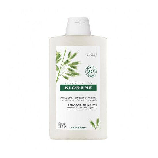 Klorane Shampoing Extra Doux au Lait d'Avoine 400ml