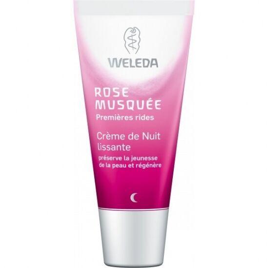 Weleda Rose Musquée Crème Nuit Lissante 30ML