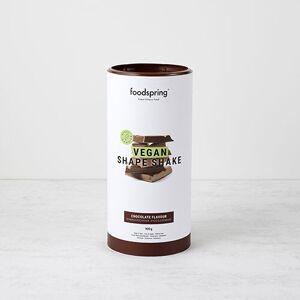 foodspring Shape Shake Vegan Chocolat - Publicité