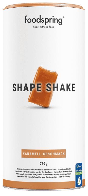 foodspring Shape Shake Goût Caramel