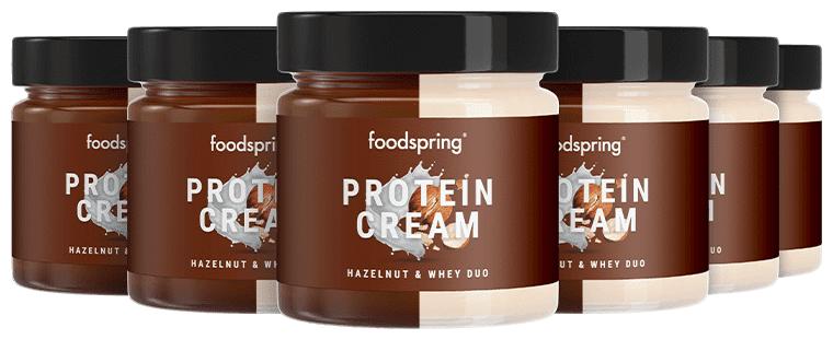 foodspring Pâtes à Tartiner Protéinée Duo Pack de 6