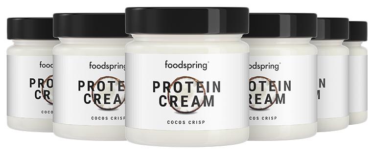 foodspring Pâte à Tartiner Protéinée Noix de Coco en Pack de 6