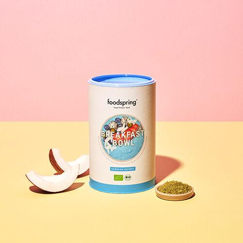 foodspring Breakfast Bowl - Spiruline noix de coco