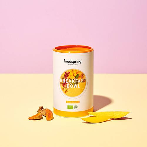 foodspring Breakfast Bowl - Mangue curcuma