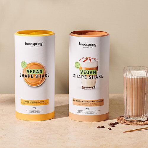 foodspring Shape Shake Vegan Café au lait caramel
