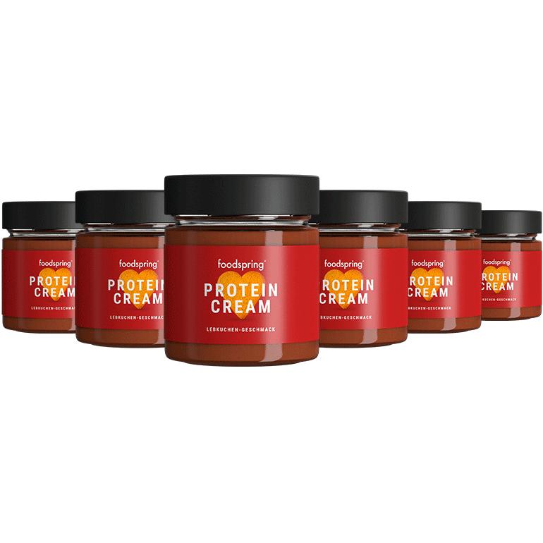 foodspring Pâte à Tartiner Protéinée Pain d'épices Pack de 6