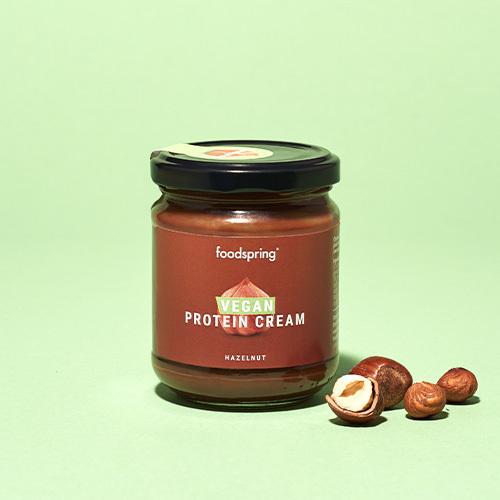 foodspring Pâte à tartiner protéinée vegan noisette Pack de 6