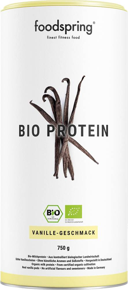 foodspring Protéine bio vanille
