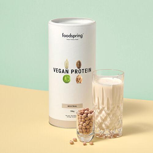 foodspring Protéine végétale goût neutre