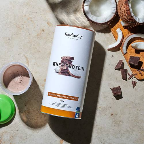 foodspring Protéine Whey Chocolat - Noix de coco