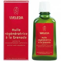 WELEDA Huile de massage Grenade 100ML Flacon Pompe