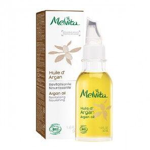 Melvita huile de beauté argan équitable flacon 50ml