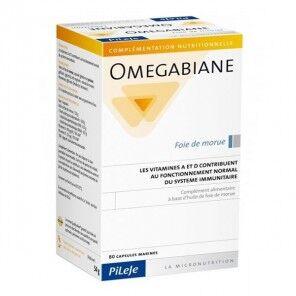 PILEJE Pilèje omegabiane foie de morue 80 capsules