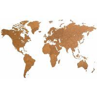 MiMi Innovations Décoration carte du monde mural Bois Marron 280x170cm <br /><b>270.06 EUR</b> ManoMano