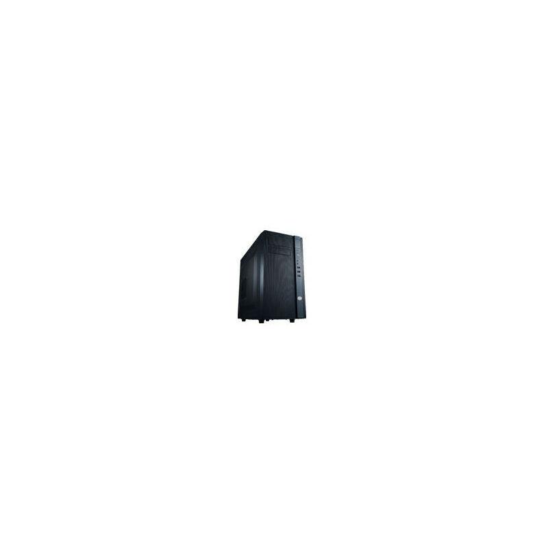 Cooler Master N200 - Mini-Tour - PC - Plastique - Acier - Noir - Micro ATX,Mini-ITX - maison/bureau (NSE-200-KKN1) - Cooler Master