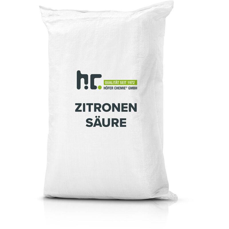 HöFER CHEMIE 4 x 25 kg Acide citrique