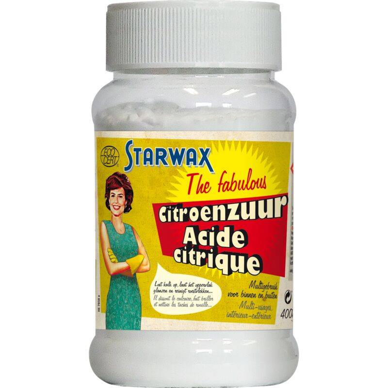 STARWAX Acide citrique Starwax The Fabulous Multi-usages 400gr