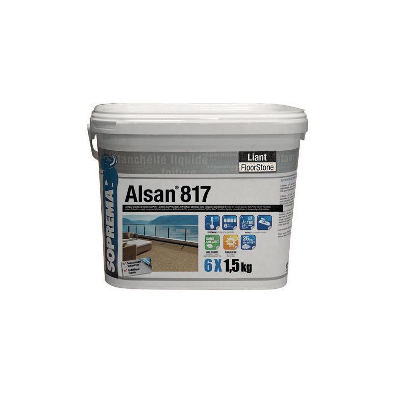 Soprema - ALSAN® 817 LIANT SANS SOLVANT - Seau de 24 kg