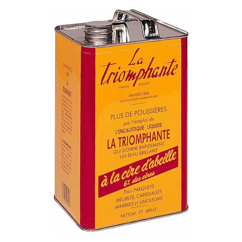 LA TRIOMPHANTE Cire Triomphante Claire 5l - La Triomphante