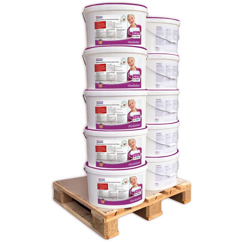 E-delux - Colle pour revêtements muraux PROFHOME 300-13-10 colle pour papiers intissés adhésif prêt à l'emploi 160 kg rend. max 1050 m2