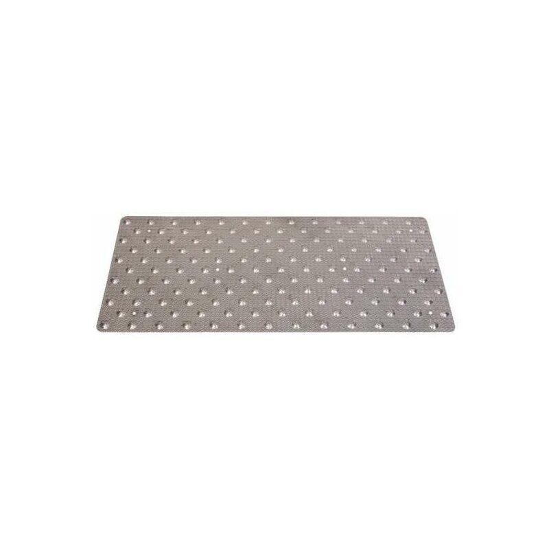 Duval - Dalle podotactile de vigilance à coller aluminium grain d'orge 958 x 420 mm
