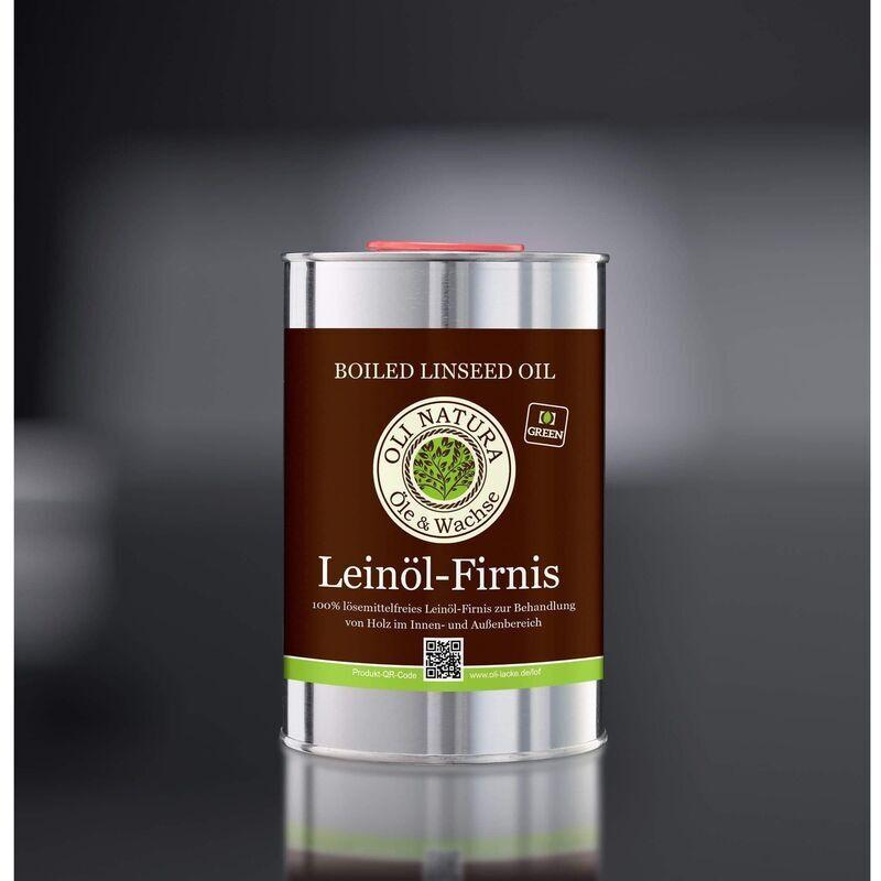 OLI NATURA Huile de lin 5 litres (pack de 5X1 litre) - - Oli Natura