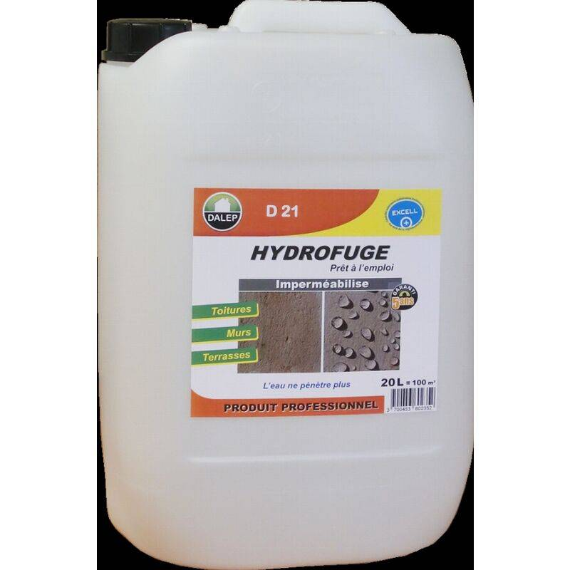 DALEP Hydrofuge et Oleofuge DALEP D21 - Prêt à l'emploi Bidon de 200 Litres - 221200
