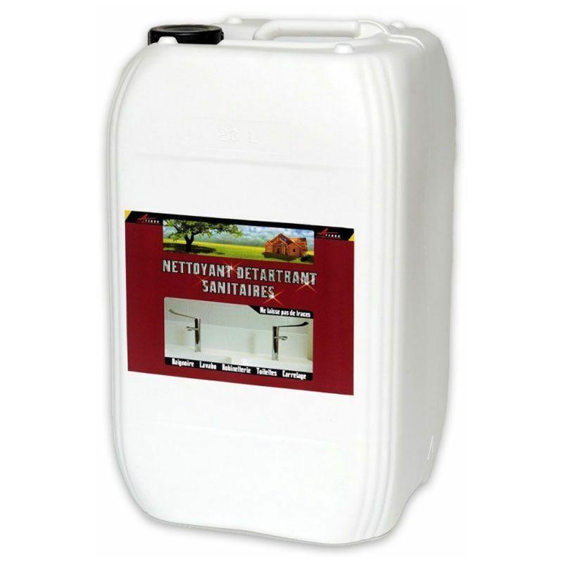 ARCANE INDUSTRIES Nettoyant inox wc baignoire salle de bain sdb enlever calcaire sanitaire carrelage cabine douche - ARCANE INDUSTRIES - Transparente - Liquide - 20 L