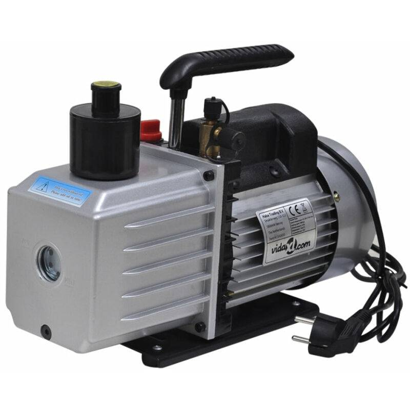 HELLOSHOP26 Pompe à vide double étage 100 litres / min systèmes frigorifiques, machines d'impression, appareils médicaux - Or