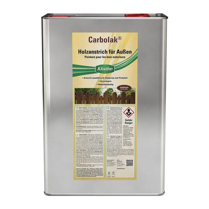 KLUTHE Produits d'imprégnation Carbolak® marron naturel 10 l - Kluthe