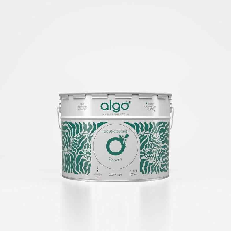ALGO Peinture saine & écologique Sous-couche - Blanc - 10L - Algo