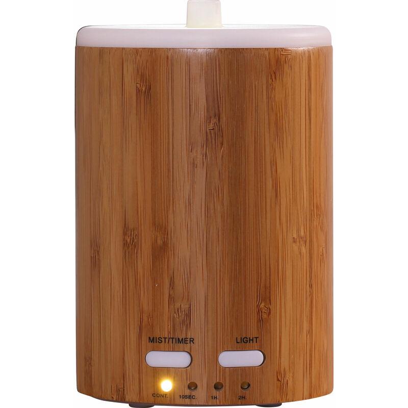 Purline - Diffuseur d'huiles Essentielles 150 ML Humidificateur d'air Ultrasonique Diffuseur d'arôme Brume Fraîche Aromathérapie avec Lumière