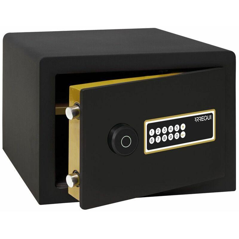 Arregui AWA 220740 Coffre-fort Intelligent, à poser, Smart Safe, ouverture à code électronique, gestion via l'application mobile, compatible Amazon