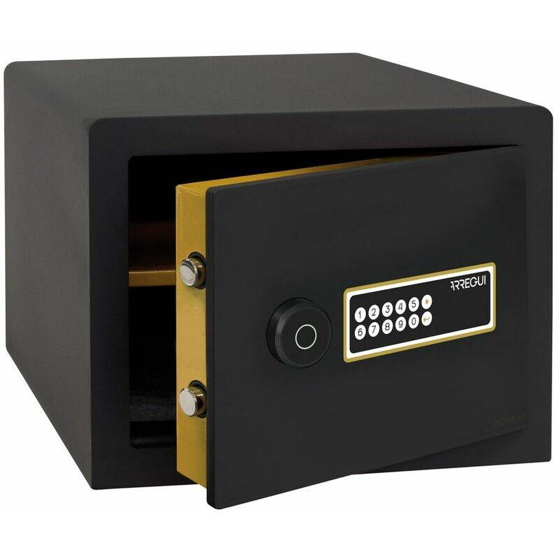 Arregui AWA 220750 Coffre-fort Intelligent, à poser, Smart Safe, ouverture à code électronique, gestion via l'application mobile, compatible Amazon
