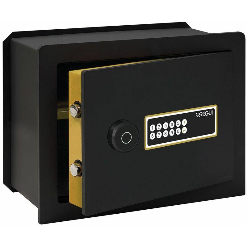 Arregui AWA 221750 Coffre-fort Intelligent, à emmurer, Smart Safe, ouverture à code électronique, gestion via l'application mobile, compatible Amazon