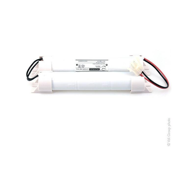 NX ™ NX - Batterie eclairage secours 3D+3D ST5 Twin Stick Fils + AMP 7.2V 4Ah