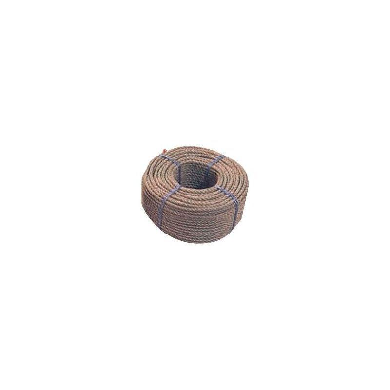 WEBSILOR Cordage chanvre synthétique - Diamètre : 40mm - Longueur : 25m
