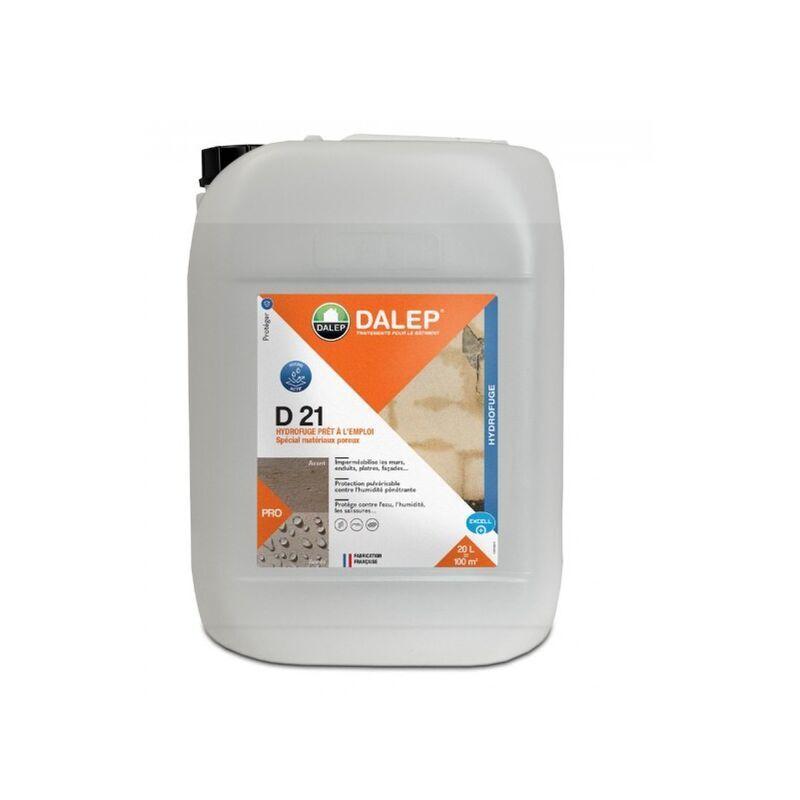 DALEP Hydrofuge et Oleofuge DALEP D21 Prêt à l'emploi Bidon de 20 Litres - 221020