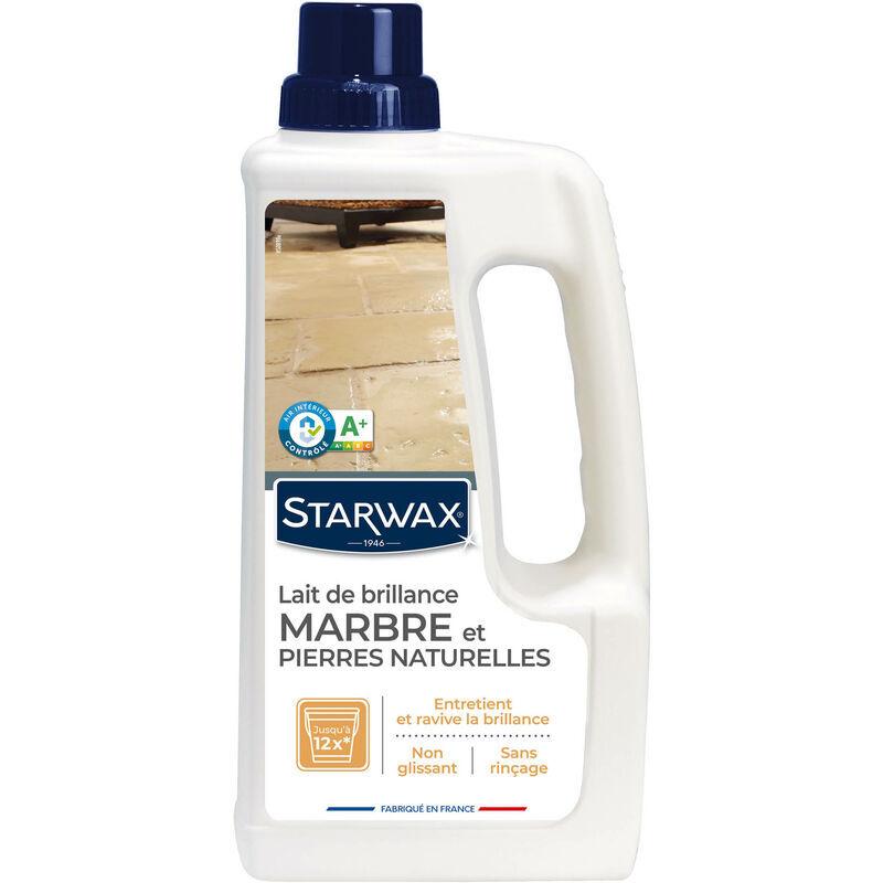 STARWAX Lait de brillance pour marbres et pierres naturelles 1L - Starwax