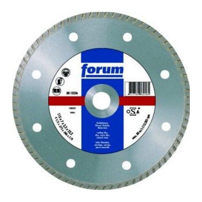Forum Meule tronçonneuse diamantée, vitrifiée, à fins d'utilisation multiples, dans une coupe à sec, Ø x alésage : 230 x 22,23 mm