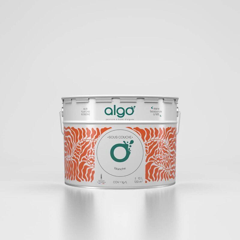 ALGO Peinture saine & écologique Sous-couche - Blanc - 2L - Algo