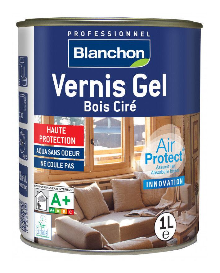 BLANCHON Vernis Gel Bois Ciré Chêne Clair 1L
