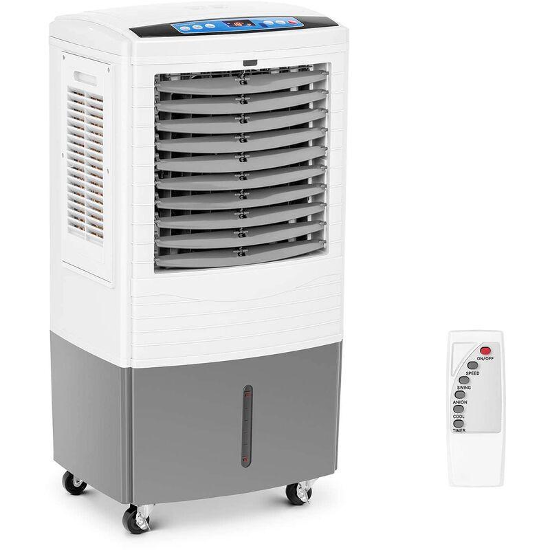UNIPRODO Refroidisseur d'air portatif ventilateur 150W 40L Minuterie 24 h 4 Roulettes - Uniprodo