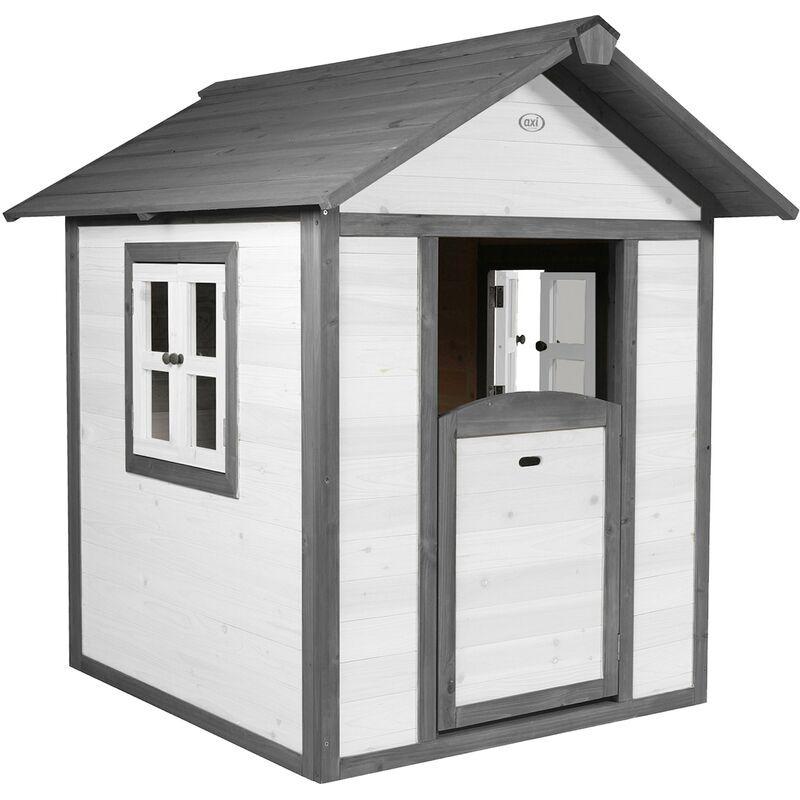 AXI Maison Enfant Beach Lodge en Blanc   Maison de Jeux en bois FFC pour les enfants   Maisonnette / Cabane de jeu pour le jardin