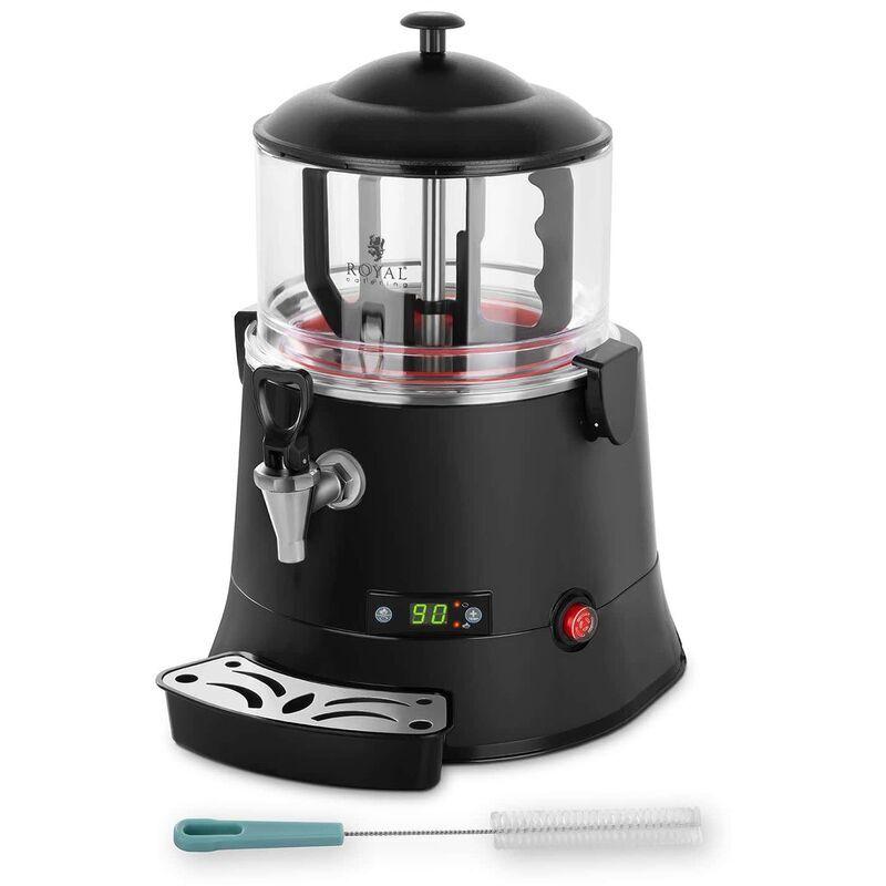 ROYAL CATERING Distributeur à chocolat Chaud Chocolatière Percolateur 440W 5 L 30-90°C Sans Bpa